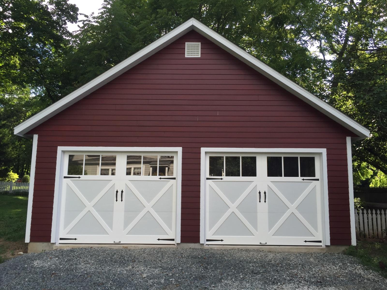 Garages amish garage 1 car garage 2 car garage 3 car for 3 car attached garage plans